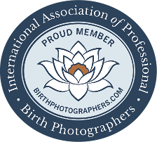 Leona Darnell is a member of the International Association of Professional Birth Photographers