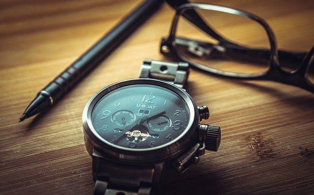 photo of a watch depicting time as an on-call birth photographer
